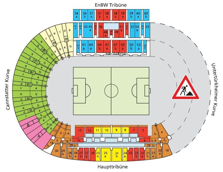 Mercedes Benz Arena Sitzplan