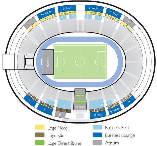 Olympiastadion Berlin Sitzplan