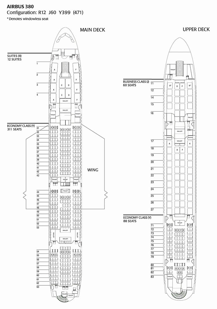 sitzplan sitzpl tze des airbus a380 800 sitzplan. Black Bedroom Furniture Sets. Home Design Ideas