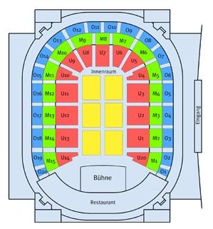 Tui Arena Sitzplan