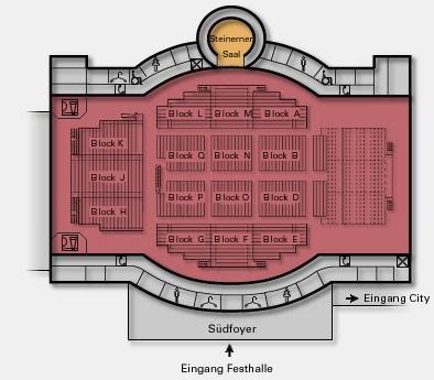 Sitzplan Saalplan Der Festhalle Frankfurt Sitzplan